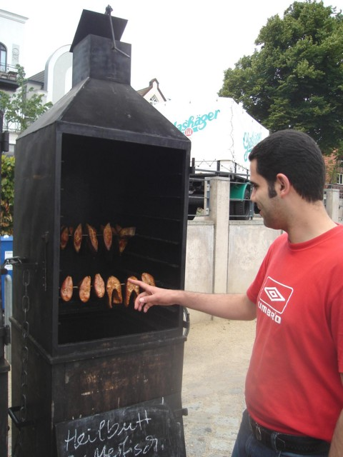 I like smoked fish from the Batic Sea - please two pieces of Heilbutt for my father in Aden, too - Ghassan T. Salman Environmental Engineer from Baghad. July, 2008